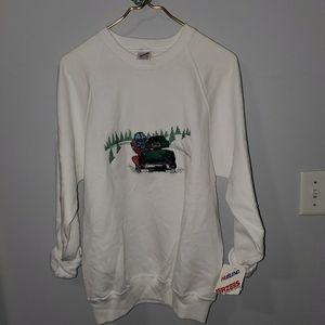 Vintage Jerzees Snowmobile Sweatshirt